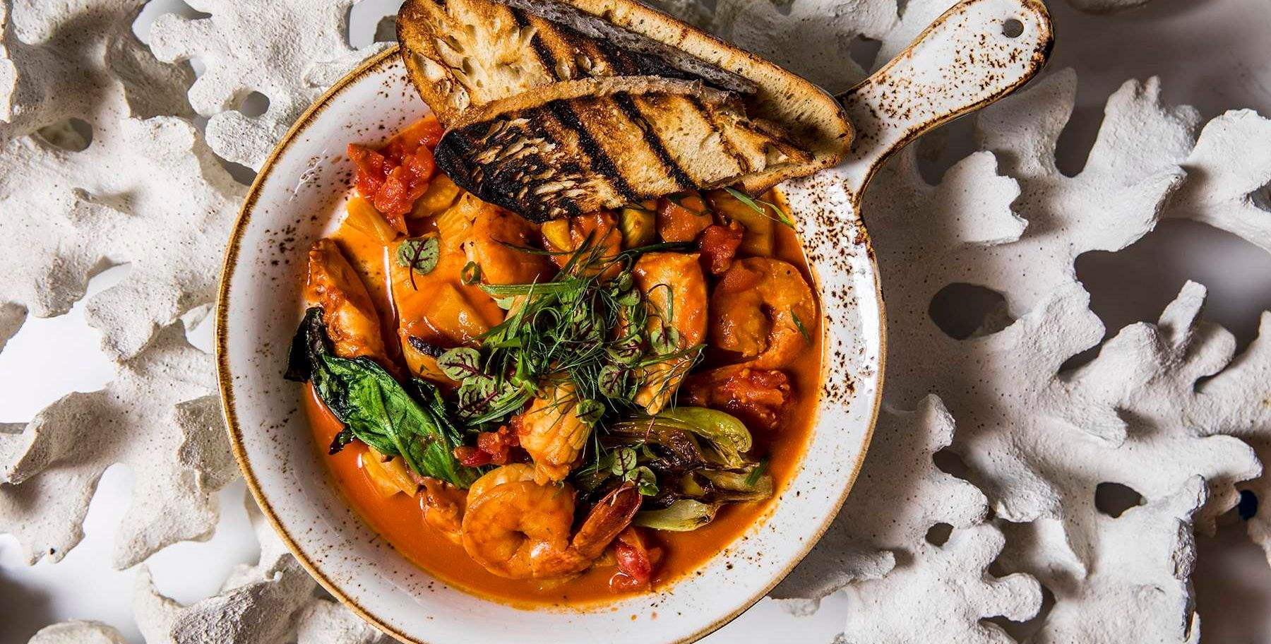 A vibrant menu rooted in local flavors