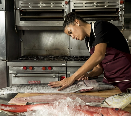 Chef Bella in the Kitchen